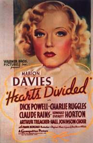 "Poster from ""Heart's Divided"""